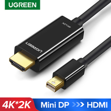 Ugreen Cáp Chuyển Đổi Mini Displayport To HDMI 4K Thunderbolt 2 HDMI Cho MacBook Air 13 iMac Chromebook Mini DP sang HDMI