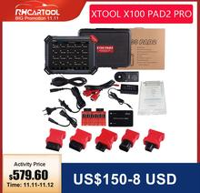 XTOOL X100pad2 pro X100 PAD2 with VW 4th 5th X100 PAD2 X300 pro3보다 우수한 기능 DHL 무료 배송