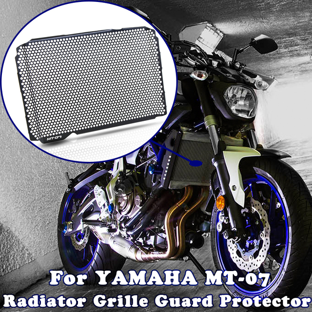 MT 07 MT07 אופנוע רדיאטור גריל משמר מגן גריל כיסוי הגנת אופנוע AccessorieFor ימאהה MT 07 2015 2016 2017