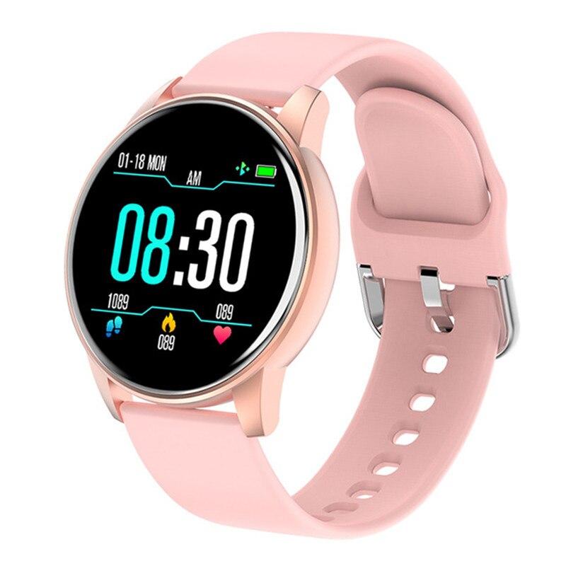 Смарт-часы LIGE женские и женские спортивные с экраном 2020 дюйма и Пульсометром