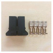AMP D-5 A06B-6110-K201Connector 4 Pins Plug Terminal for FANUC Servo Motor