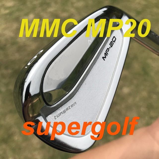 2020 جولف عالي الجودة مكاوي MMC MP20 مكاوي مزورة مجموعة (3 4 5 6 7 8 9 P) مع NS pro 950 Stiff flex 8 قطعة نوادي الغولف