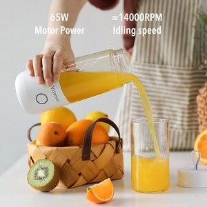 Image 3 - Witaminy obejmują V młodzieżowy przenośny sok kubek USB elektryczny witamina marzyciel sok kubek sok kubek