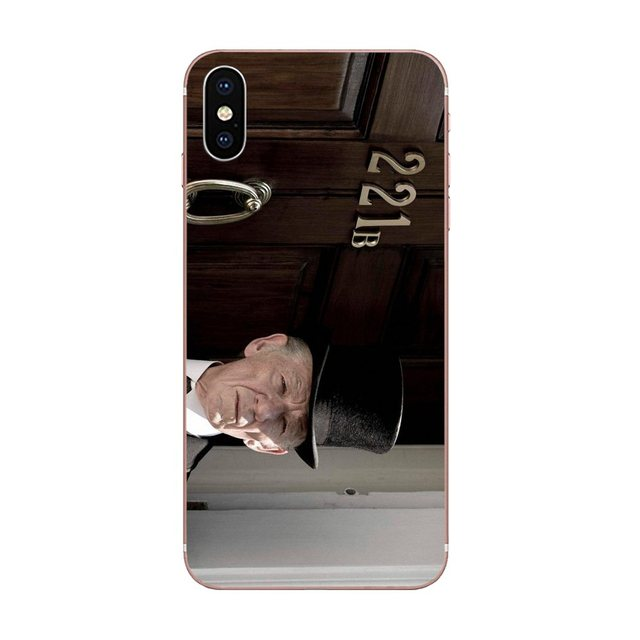 For Huawei P7 P8 P9 P10 P20 P30 Lite Mini Plus Pro Y9 Prime P Smart Z 2018 2019 TPU Bags Cases Sherlock Holmes Door 221b
