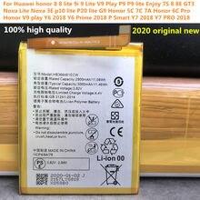Original novo hb366481ecw bateria 3000 mah para huawei honor 7a pro AUM-AL29 aum al29 bateria