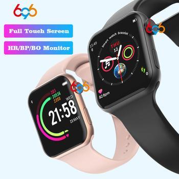 696 nouveau Style F10 montre intelligente plein écran tactile Bluetooth Smartwatch musique caméra moniteur de fréquence cardiaque étanche Bracelet intelligent 1