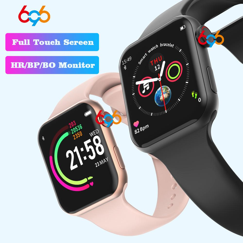 696 New Style F10 Smart Watch Full touch screen Bluetooth Smartwatch Music Camera Heart Rate Monitor Waterproof Smart Bracelet
