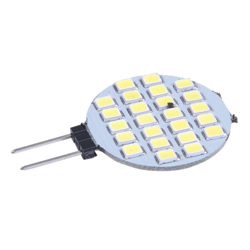 G4 1210 SMD 24 LED Light Bulb Lamp Bulb White SPOT 6000-6500K DC 12V