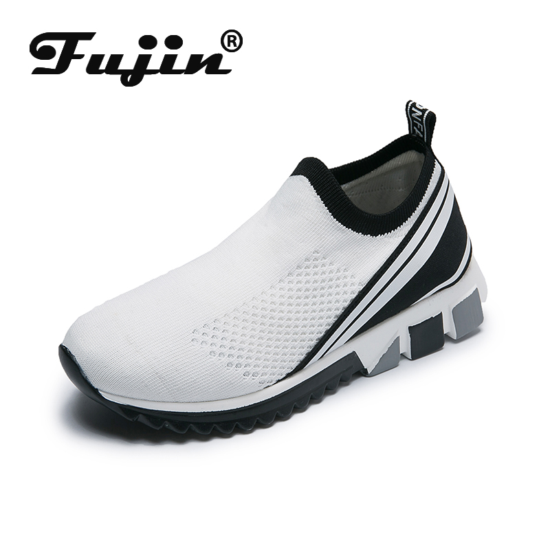 Fujin Summer Breathable Women Shoes Dropshipping Sneakers Lightweight Flats Mesh Men Casual Couple