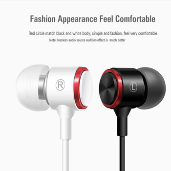 Fashion 3.5mm E3 Magnet Metal Sports Headset Stereo Sweat-proof Running Sport music in ear  With Mic For Mobile Phone Call