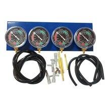 1 pc motocicleta combustível a vácuo carburador sincronizador calibre para 2 3 4 motores do cilindro xv750 xv1000 xv1100 peças de reposição