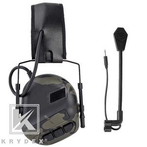 Image 2 - KRYDEX Tactical Headset With Micphone Peltor Detachable Noise Reduction Sound Pick Up Communication Electronic Headphone MCBK