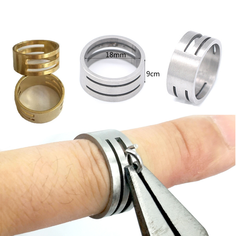 Ring For Jewelry Making Open Jump Splits Rings Diy Bracelet Necklace 5pcs 1.8cm Diameter Copper Accessories Wholesale Lots Bulk