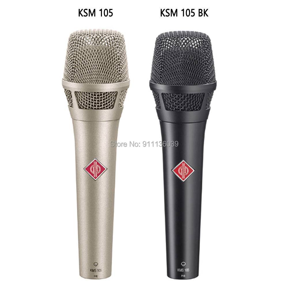 Free Shipping KMS105 studio condenser microphone, kms105 Supercardioid Condenser Vocal Microphone, kms105 mirophone Microphones  - AliExpress