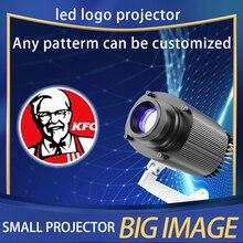 Ngoài Trời Chống Nước LED Tùy Chỉnh Hình Ảnh Ký Xoay Từ Xa Chiếu Đèn Tùy Chỉnh Quảng Cáo Logo Máy Chiếu Ánh Sáng