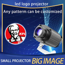 Outdoor Waterproof LED Customized Image Sign Rotate Remote Projection Lamp Custom Advertising Logo Projector Light