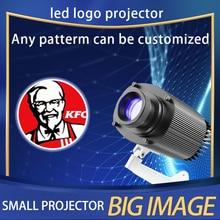 Zewnętrzne wodoodporne LED niestandardowy obraz znak obracać się o pilot zdalnego lampa projektora niestandardowe reklamy projektor do Logo