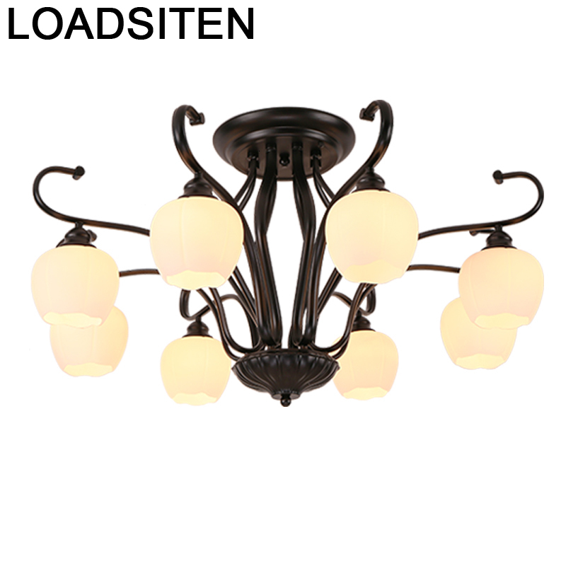 Deckenleuchte Lamp For Luminaire De Colgante Moderna Fixtures Lampara Techo Plafondlamp Living Room Led Ceiling Light