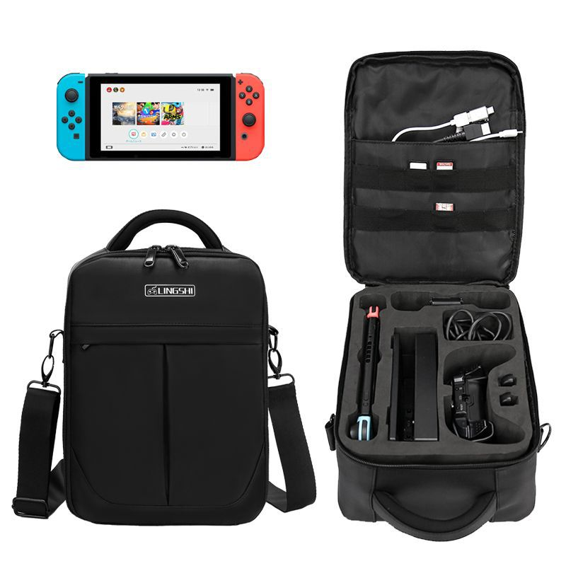 Carry Case for Switch Protective Hard But Lightweight Travel Carrying Case for 12 Game Cartridge Joy-Con other Accessories