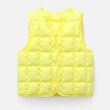 Cotton Vest Warmth Winter Children's Autumn Fashion And Spring Breathable New-Style Windproof