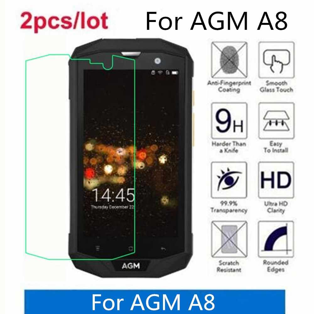 Tempered Glass For AGM A8 2.5D Premium Screen Protector Film On For AGM A8 Protective Film Glass