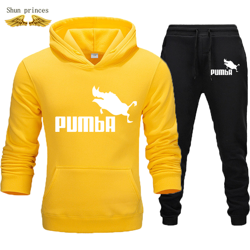 Men's Clothing  Sweatshirts Tracksuits Men Autumn/winter Hoodies + Pants Suit Spring Sweatshirt Sportswear Set Male  Hoodie XXXL
