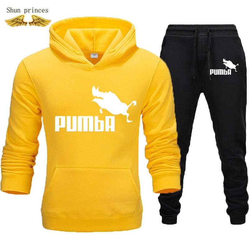 Men's Clothing  Sweatshirts Tracksuits Men Autumn/winter Hoodies + Pants Suit Spring Sweatshirt Sportswear Set Male  Hoodie XXXL