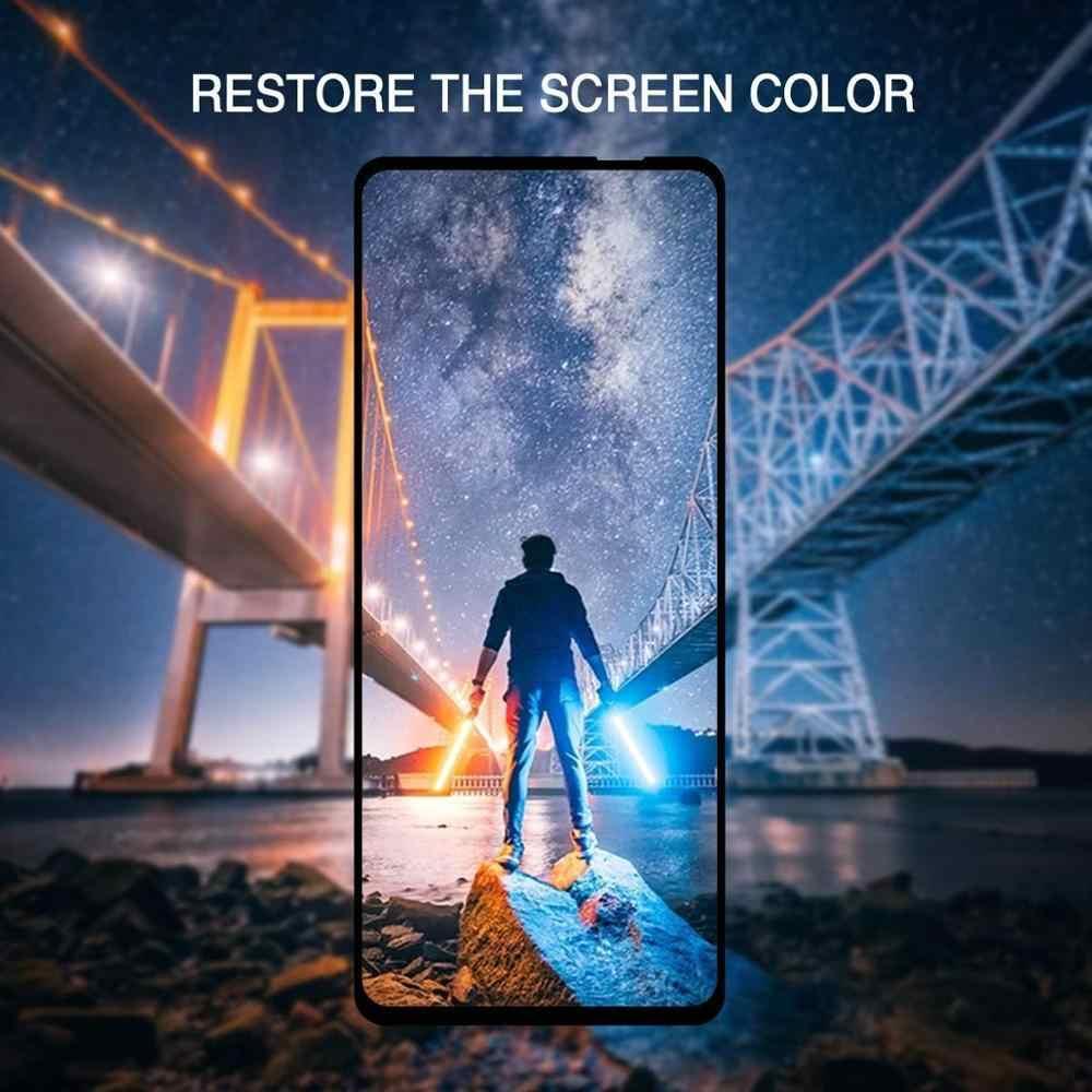 5D tam kapak temperli cam Motorola MOTO bir Pro görüş eylem Zoom güç Z4 gücü oyun P30 P40 P50 ekran koruyucu Film