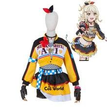 Amor. Nijigasaki-abrigo con falda y falda para Cosplay, uniforme personalizado de Anime, Just Believe Miyashita Ai