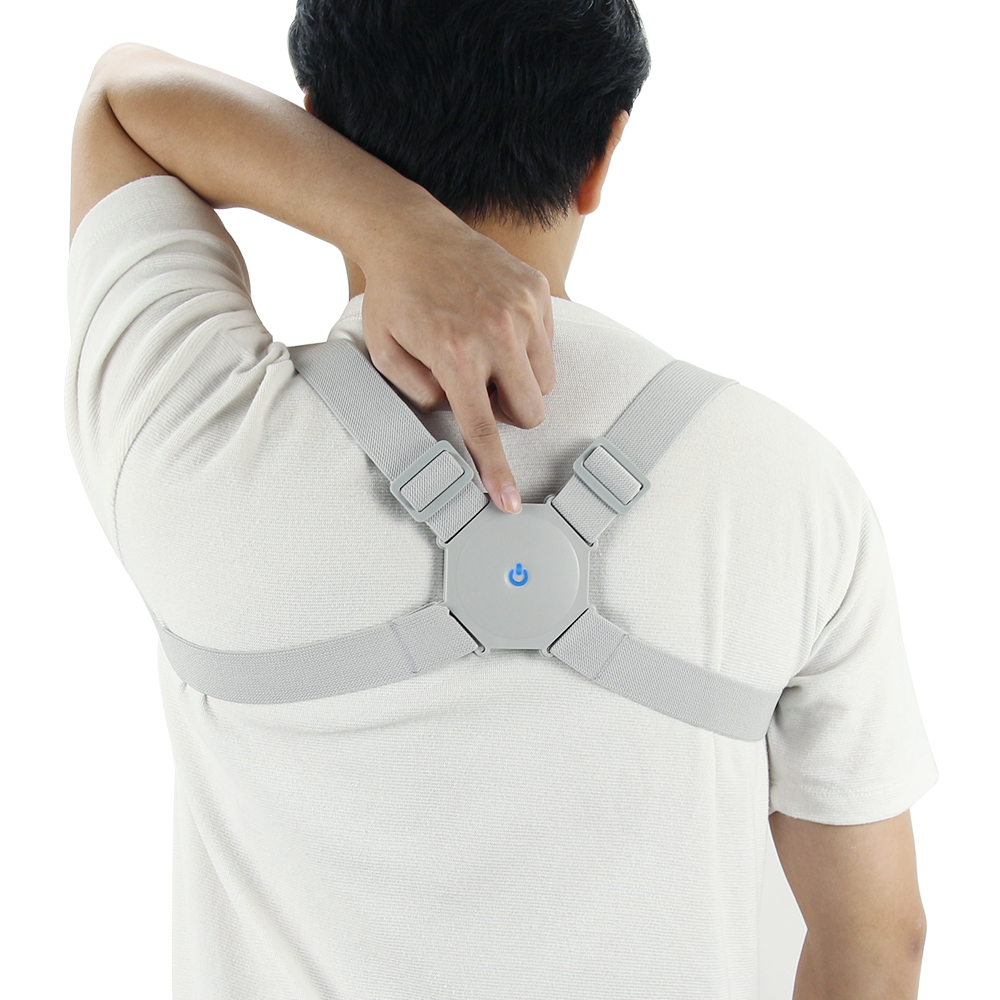 Posture Corrector Trainer Back Support Brace Back Side View