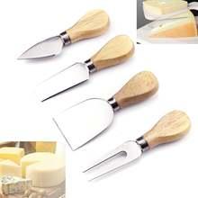 4 шт/компл набор деревянных ручек бард oa k бамбуковая Сырная