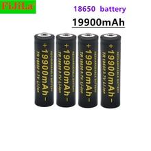 2021 Новый 18650 батарея 3,7V 19900 мА/ч, batera recargable de Li-Ion para linterna Фонарик светодиодный Caliente Nueva и высокое качество