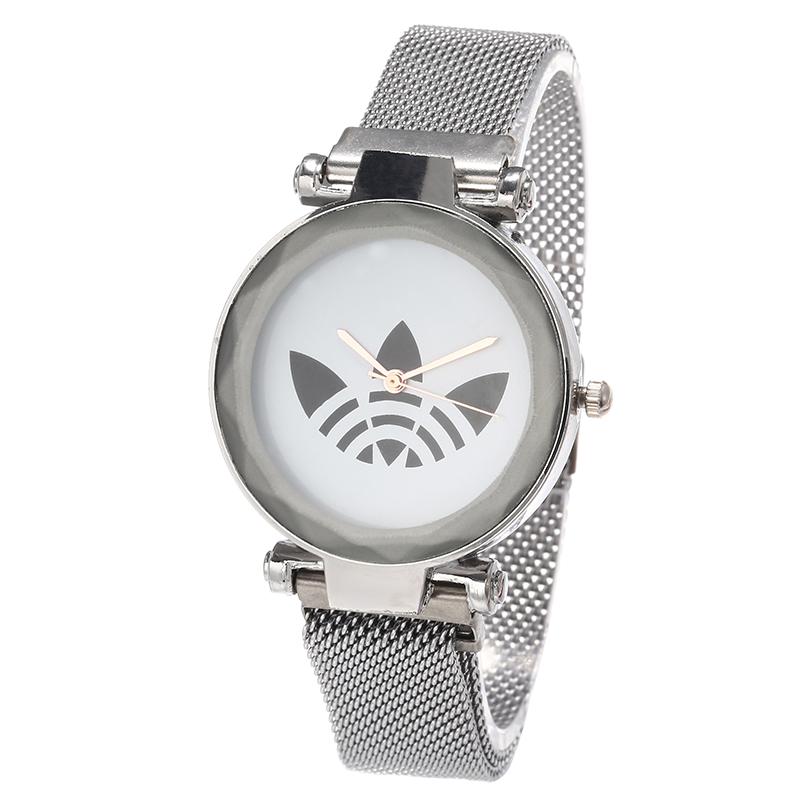 Reloj Mujer Luxury Brand AD Women Sports Quartz Watch Women Fashion Casual Dress Clover Watch Magnet Strap Girl Gift Relogios