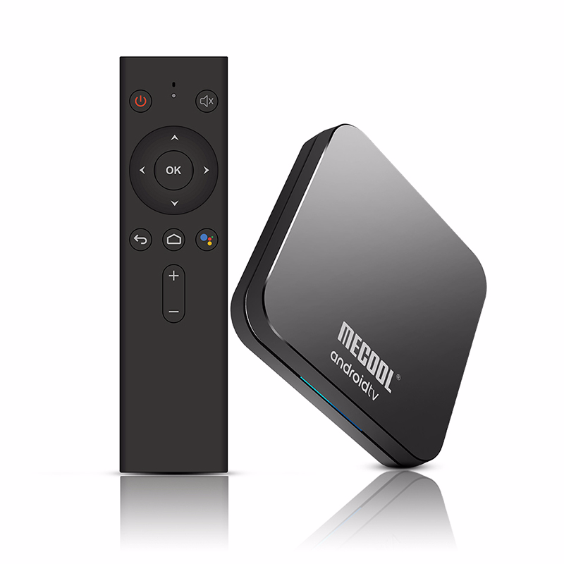 Skywoods MECOOL KM9 Pro Google Certificato Androidtv Android 9.0 TV Box 4GB 32GB Amlogic S905X2 4K Dual wifi Smart TV box