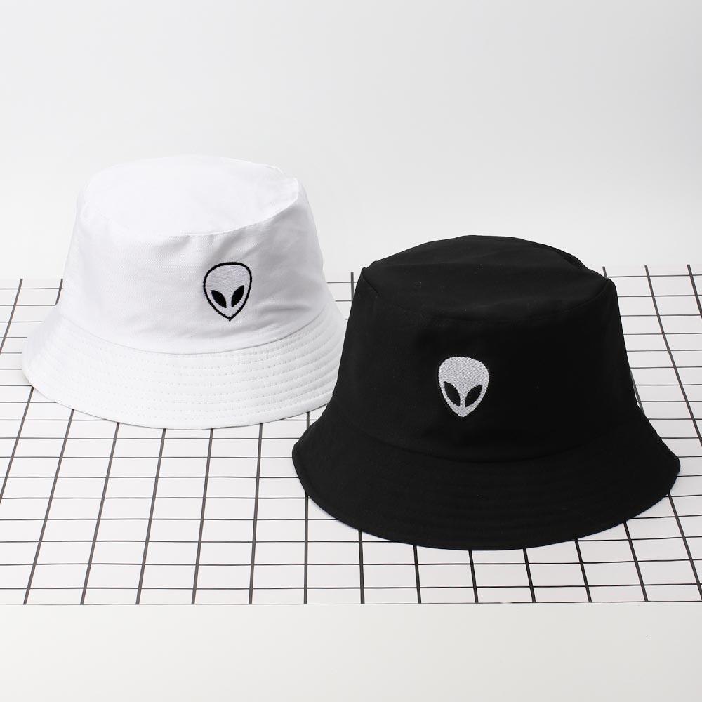 Adulte//filles//garçons Coton Alien pipi Earth UFO Space Bucket Hat-Free porte-clés