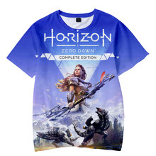 Horizonte zero dawn t-shirts 3d treino tshirt dos homens das mulheres verão manga curta streetwear 2020 jogos cosplay harajuku roupas