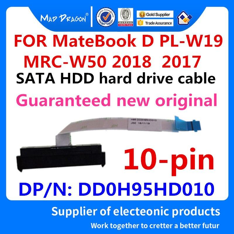 Novo original portátil sata hdd disco rígido cabo conector para huawei matebook d PL-W09 w19/MRC-W50 w60 2018 2017 dd0h95hd010