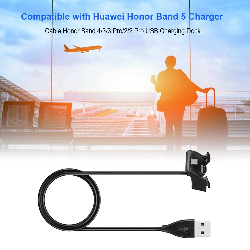 USB Charging Data Cable Fast <font><b>Charger</b></font> Charging Dock Clip For Huawei <font><b>Honor</b></font> <font><b>Band</b></font> 5 <font><b>4</b></font> 3 <font><b>Band</b></font> 2 Pro Smart Bracelet image