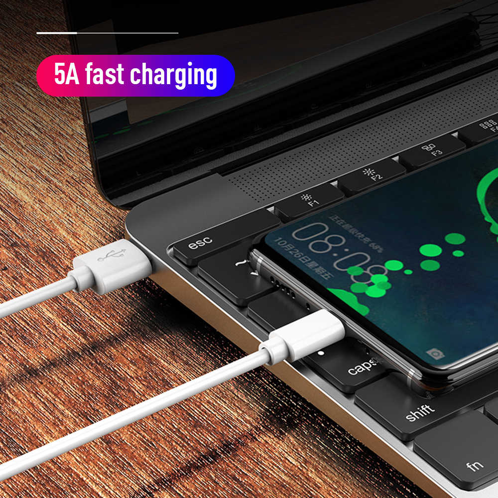 USB Type C สำหรับ Samsung S10 S9 S8 A50 Xiaomi Redmi หมายเหตุ 7 Fast ชาร์จ USB-C โทรศัพท์มือถือ USBC Type-C