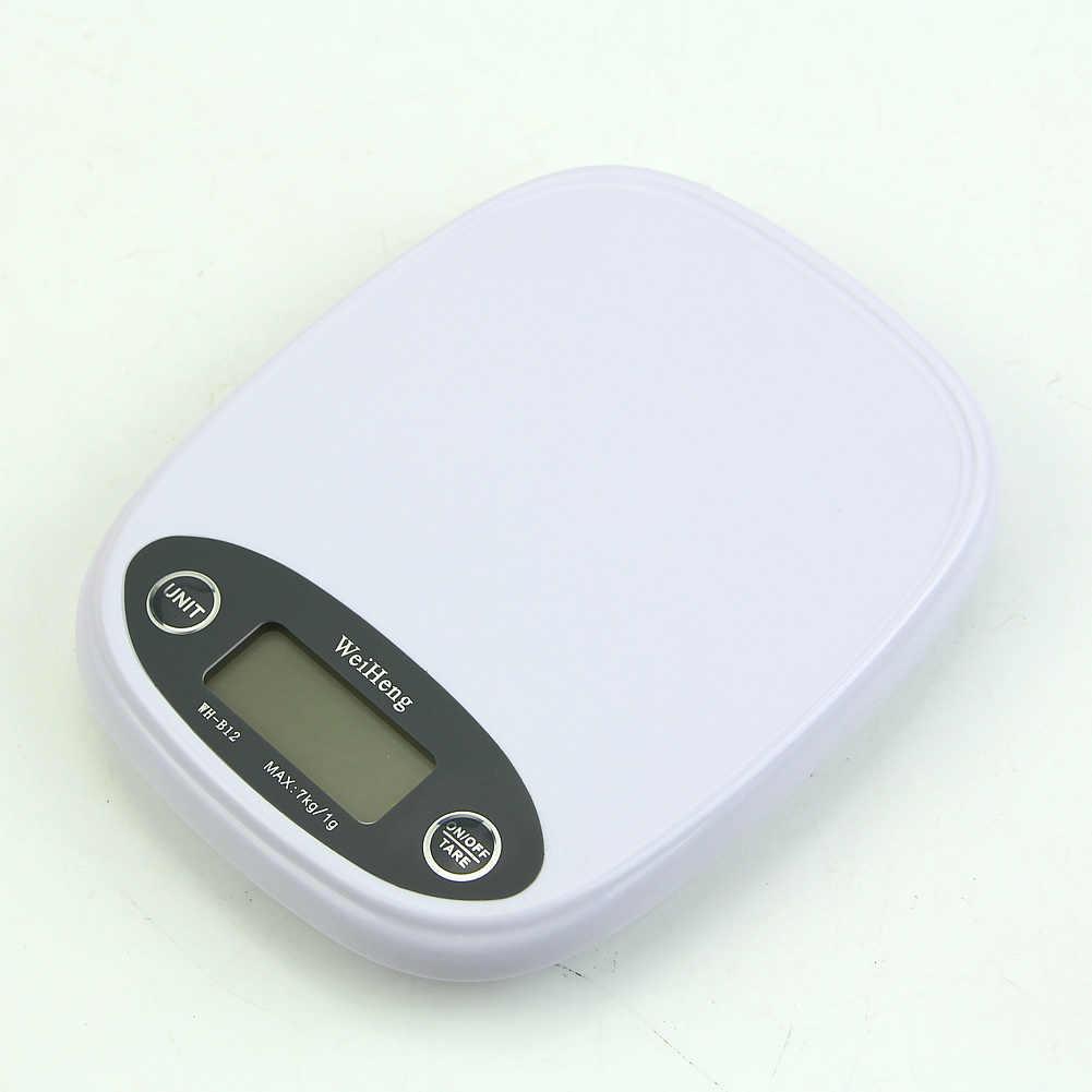 Новые кухонные весы 7 кг/1 г, цифровые весы для еды, диеты, Почтовые весы, подсветка г lb