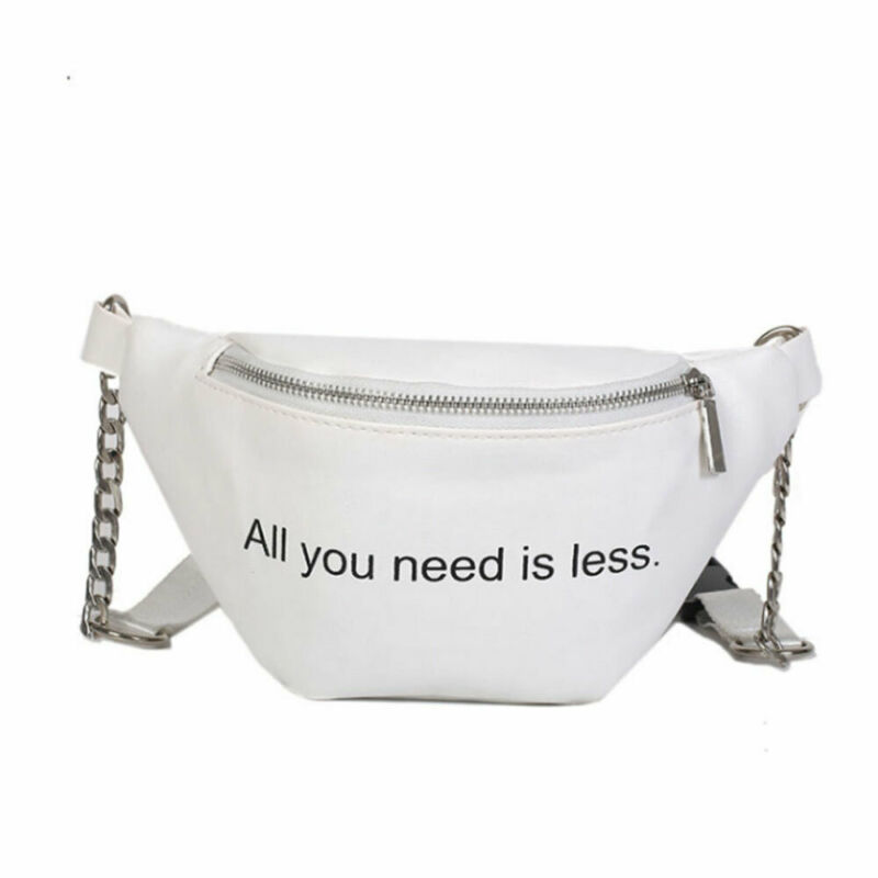 Women Waist Fanny Pack Belt Bag Travel Hip Bum Bag Small Purse Chest Pouch NEW Ladies Letter Chest Waist Packs Women Money Belt
