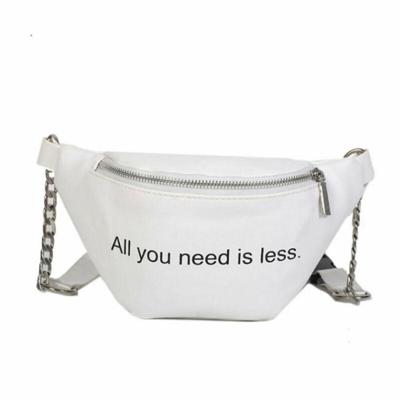 Women Waist Fanny Pack Belt Bag Travel Hip Bum Bag Small Purse Chest Pouch NEW Ladies Letter Chest Waist Packs Women Money Belt