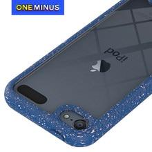 Capa protetora de corpo inteiro para ipod touch 7 6 tpu para carros caso claro resistente à prova de choque silicone duro volta telefone capa toque 5