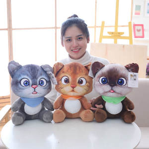 Toys Plush-Toy Cat-Doll Home-Decoration Children Animal Cute Cartoon Soft for Birthday-Gift