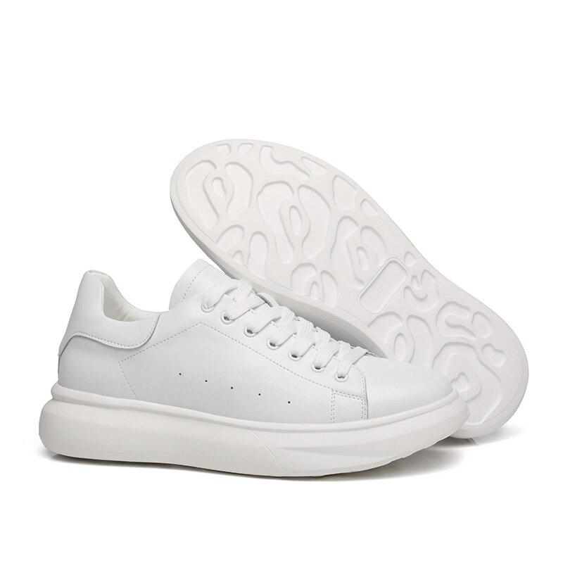 Модные кроссовки; обувь из натуральной кожи; Мужская Спортивная обувь; повседневные кроссовки; лоферы; износостойкая Мужская мягкая обувь на шнуровке|Повседневная обувь|   | АлиЭкспресс