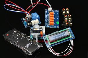 Image 2 - Assembeld Motore Preamplificatore Scheda di Controllo di Volume A Distanza + Display + PSU + Interruttore di Ingresso