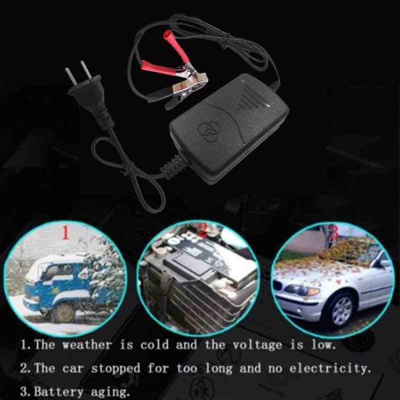 Tiêu Chuẩn Châu Âu Pin Sạc Xe Ô Tô, Xe Tải Xe Máy Thông Minh 12 V Pin Sạc Dự Phòng Nhỏ Gọn Dịu Dàng Người Bảo Trì Phụ Kiện Xe Hơi TSLM1