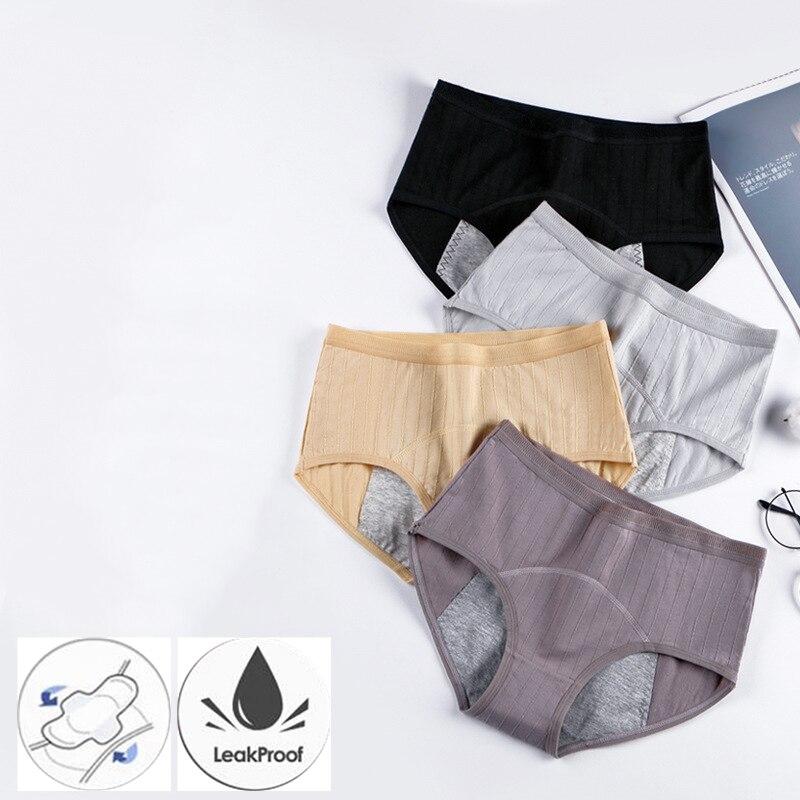 Panties for Menstruation Cotton Menstrual Panties Plus Size Culottes Menstruelles Bragas Menstruales Femme Culotte Menstruelle