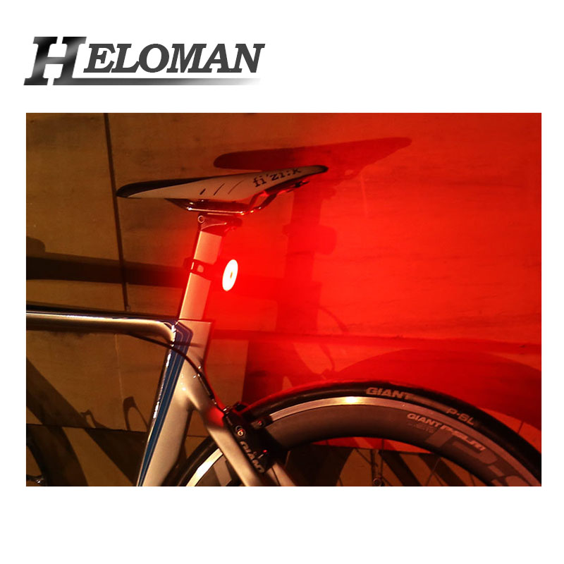 USB Charging LED Cycling Taillight Bicycle Flashlight For Mountain Road Bike Safety Warning Lamp Rear Light 5 Mode Waterproof