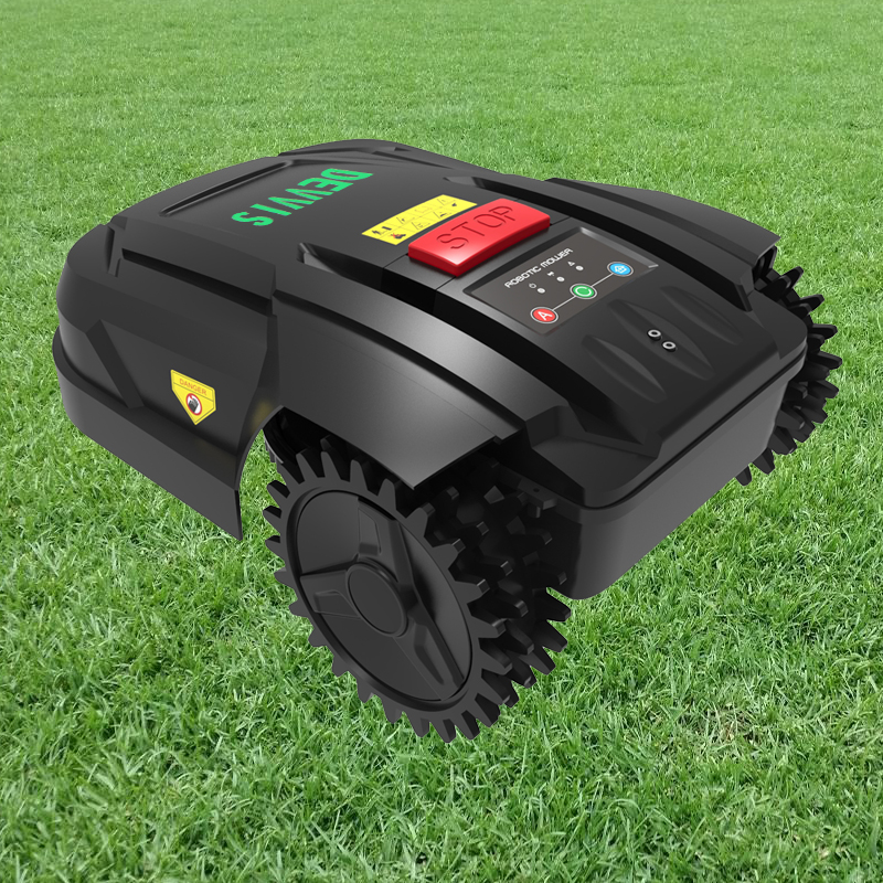 DEVVIS Robot Weed Cutter For Small Lawn Smartphone WIFI APPScheduleAuto RechargedRange FunctionSuabrea Range Function